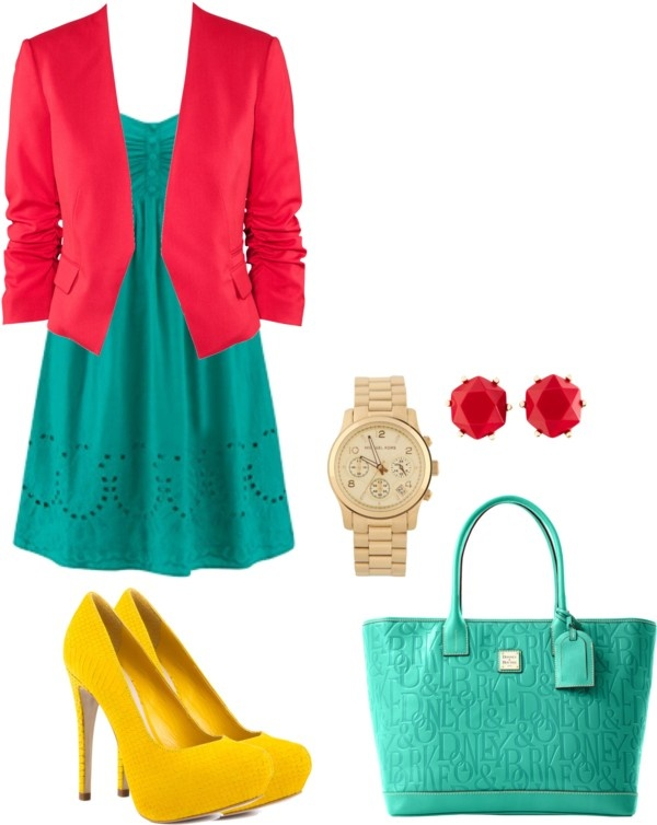 """Work in A Jolly"" by chachaaaw on Polyvore"