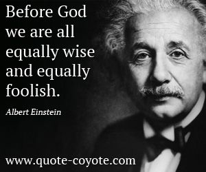 Albert Einstein Quotes Famous Quotations on Religion