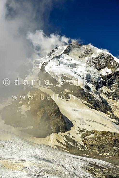 130810  Morteratsch Glacier on Bernina group