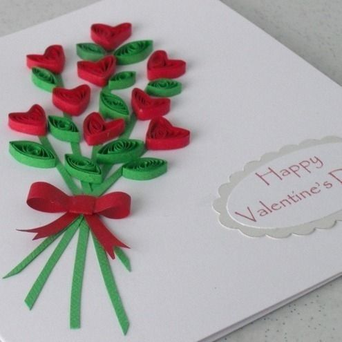 128 best images about Handmade Valentines Day Cards and Gifts on – Card Valentine Handmade