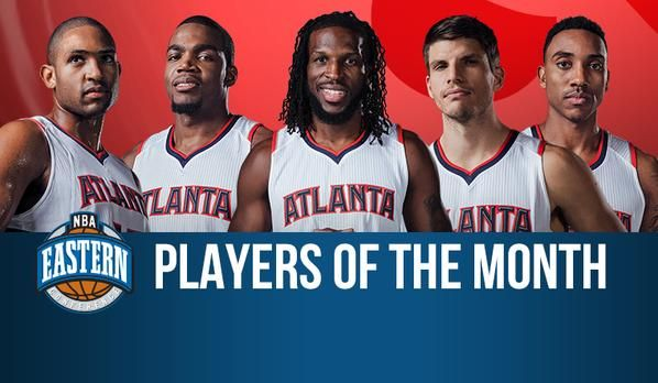 NBA Record: Atlanta Hawk's All Starting Five Name Eastern Conference Best Player's For The Month Of January