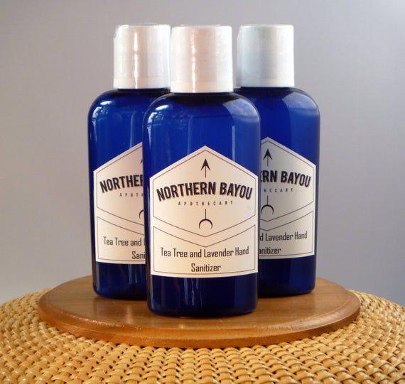 Tea Tree Lavender Hand Sanitizer Essentialoil Handsanitizer