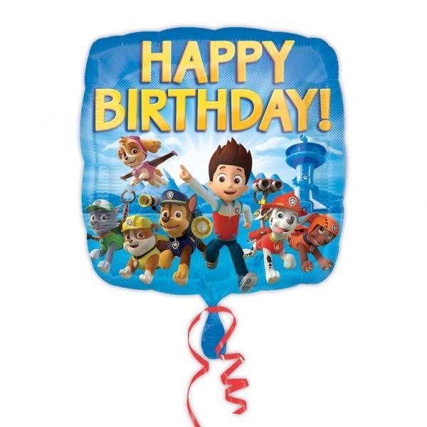 Palloncino Happy Birthday Paw Patrol Confezione: 1 pz.