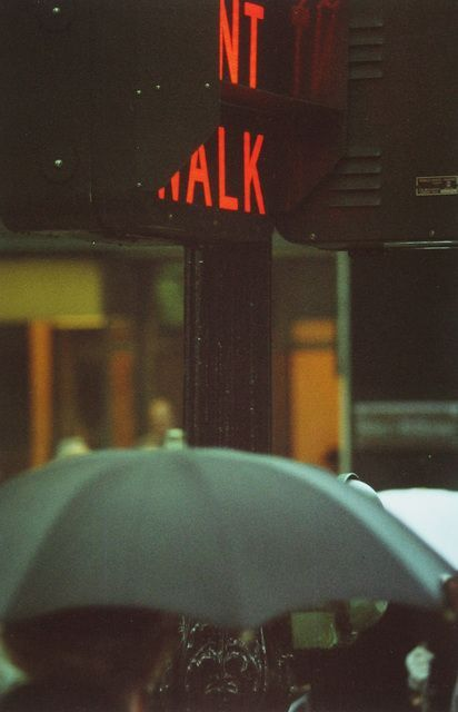 Saul Leiter   Don't Walk (1952)   Available – #Don…