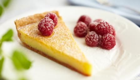 Mary Berry lets us into her secrets for a classic lemon tart. It can be made up to two days in advance, but don't decorate it until just before serving.