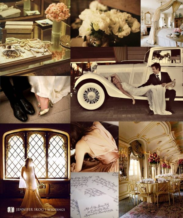 Vintage Glam Wedding I Want A Car For My