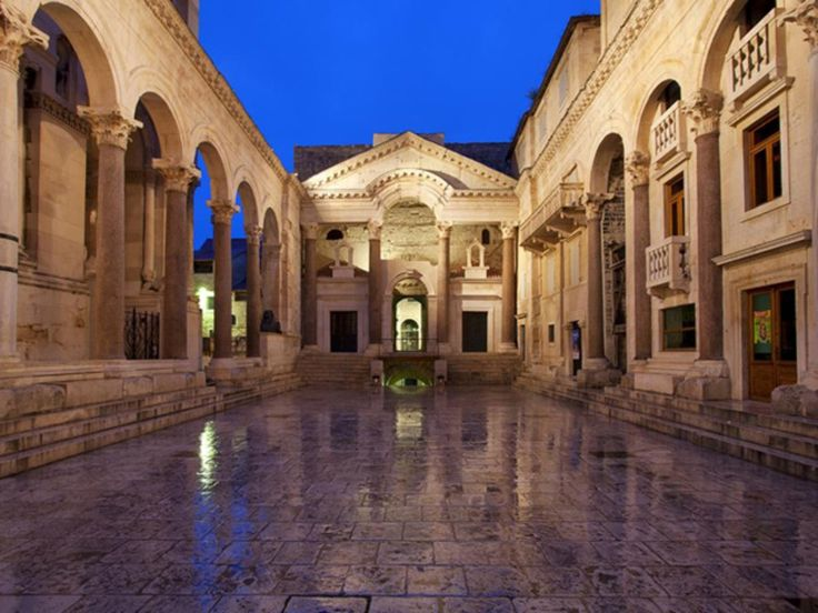 Split - Architecture Croatie