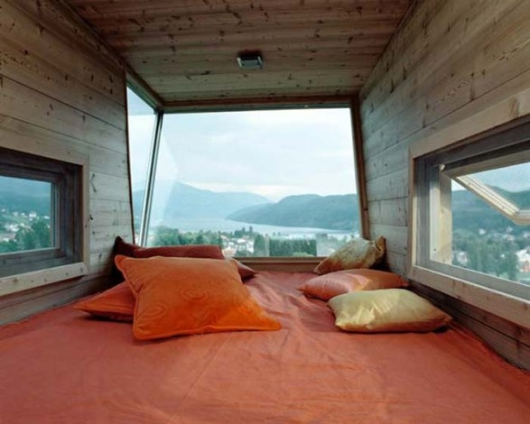 View from inside Austria tree house: Dreams Bedrooms, Beds, Window, Trees Houses, The View, Loft, Treehouse, Places, My Dreams Houses
