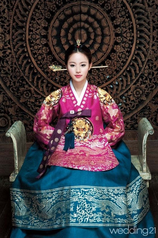 Dangui (당의) : Korean Court Dress of Joseon Dynasty