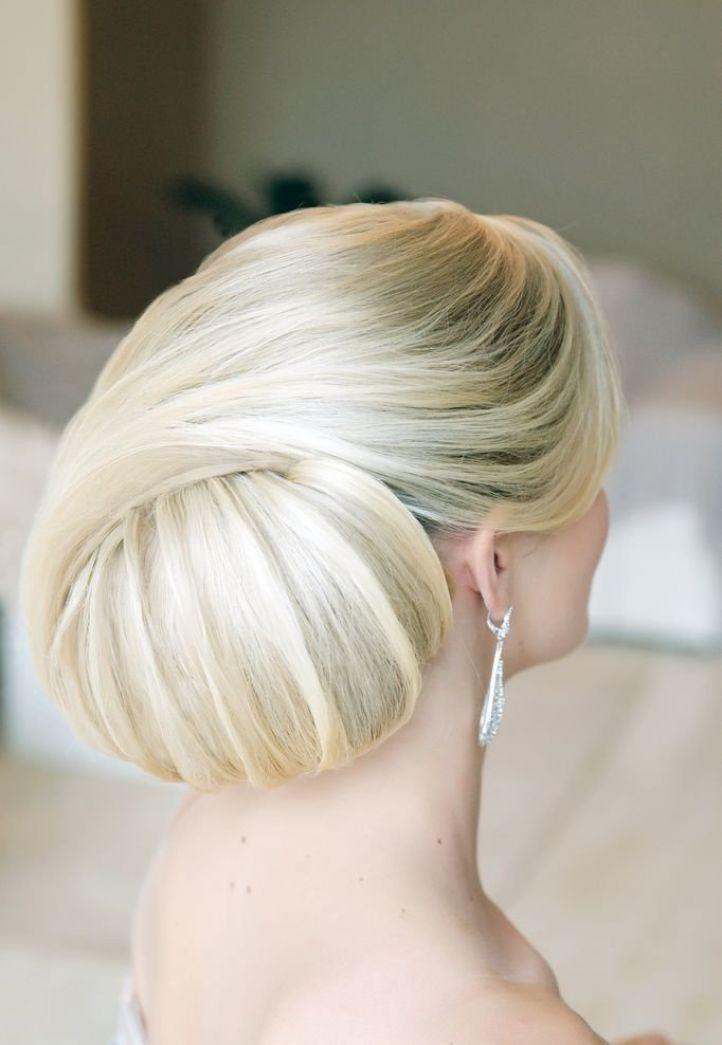 Великолепная свадебныа прическа на длинные волосы