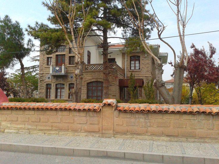 TURKEY - Aksaray / Date Aksaray Governor mansion in 1860, now serves as the new home of culture.( 1860 lı yıllar eski Vali konağı , şimdilerde Aksaray kültür evi olarak hizmet vermektedir )