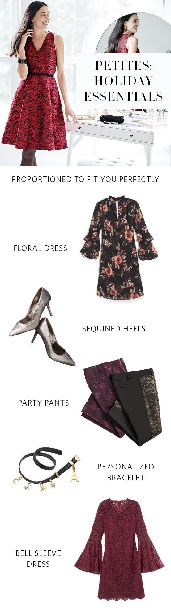 The invites are filling your holiday social calendar, and that means one thing: Time to shop (Petite) looks fit for each occasion. From festive dresses to party pants our Petites collection is proportioned to fit you (and the occasion) perfectly. Try It On, On Us: Enjoy Free Shipping & Returns on full-price Petite orders. | White House Black Market