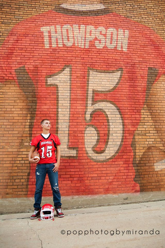#popphotog Senior Seniors Boys Football Jersey  Pop Photog by Miranda https://www.facebook.com/PopPhotogbyMiranda www.popphotog.com