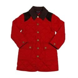 RALPH LAUREN CHILDRENSWEAR - NYLON HUNTER JACKET     Velvet insert at collar. Alcantara inserts at shoulders . Snap button front closure . Snap button at cuffs . Buttoned patch pockets on front panel