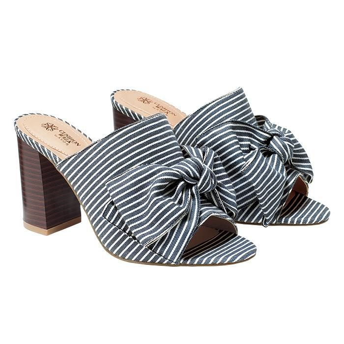 370099b1f Cushion Walk Bow Sandals - Top Quality Footwear by AVON Avon Fashion