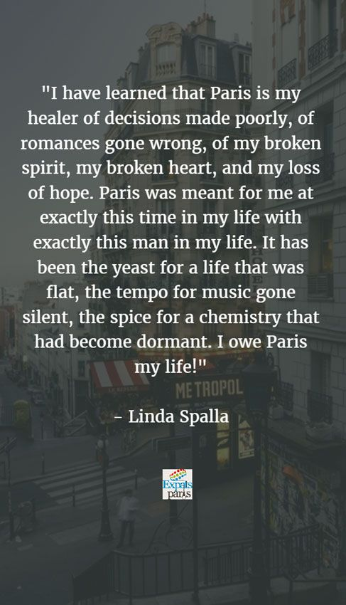 Bernie's Paris: How Linda Spalla wrote a love story of hope and light as she followed her Frenchman to Paris.