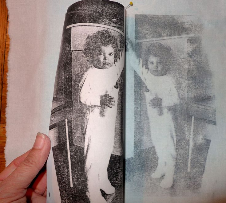Can transfer a picture onto fabric using Citra Solv!!! Tutorial included