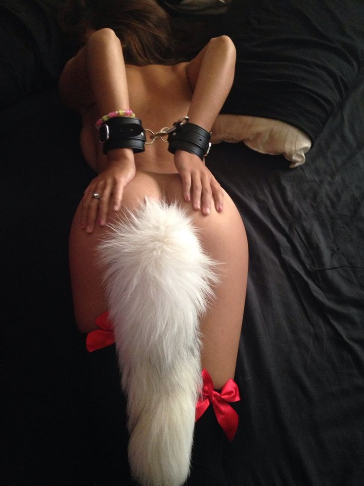 Opinion Cute girl with fox tail
