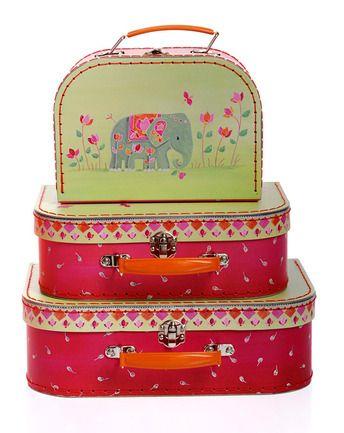 Kofferset INDIEN 3-teilig von Egmont Toys ✔ Fixer Versand, super Service ✔ Jetzt bei tausendkind kaufen!