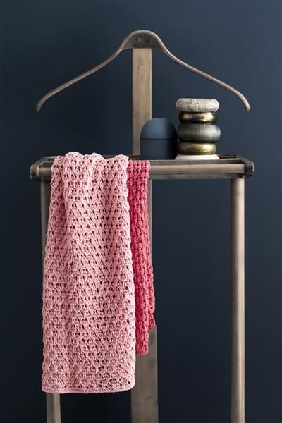 T44: Design 20 Håndkle #bomull #cotton #strikk #knit #klut #washing