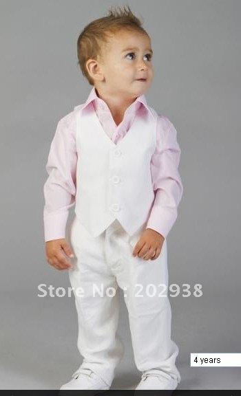 high quality boys white linen suit boy wedding suits boy tuxedo