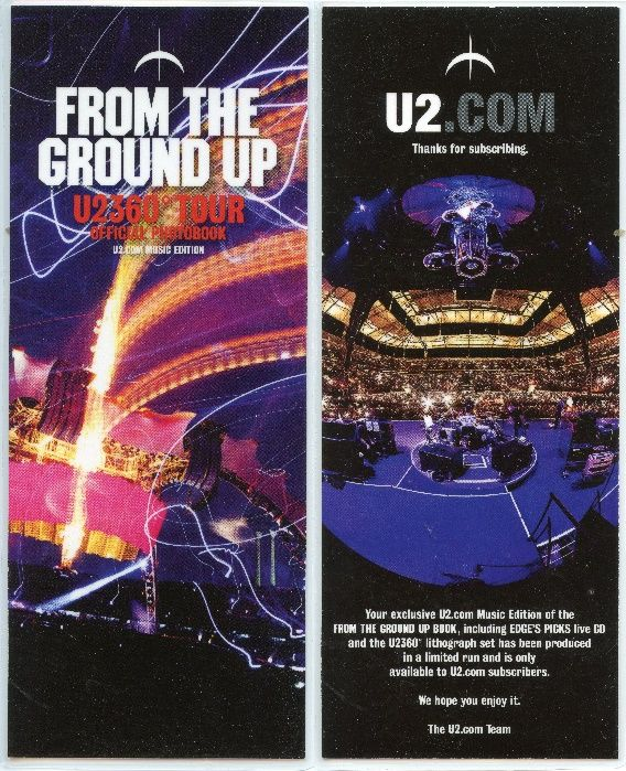 U2 - From The Ground Up - 2012