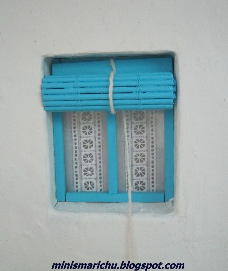 how to exterior rollup blinds