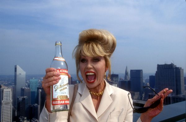 Joanna Lumley. Because fabulousness is eternal.
