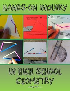 Using Hands-On Inquiry in High School Geometry