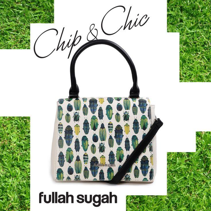 Μικρή τσάντα με Beetle print | €49.90  14341006 | fullahsugah.gr