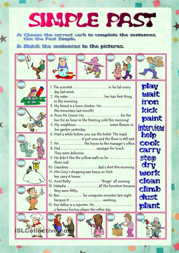 english verb tenses final test English verb tenses made simple course, final test tony the detective and  fuji the magician, part 2 change the verb into the correct form, then press.