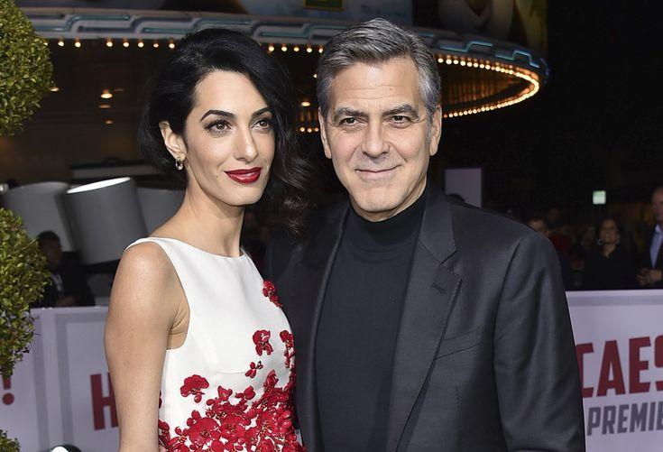 George a Amal Clooneyovci sa stali rodičmi dvojčiat  V londýnskej nemocnici sa im narodili dcéra Ella a syn Alexander.