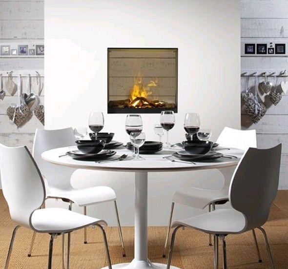 Faber gala opti myst doorkijk kampen fireplace fireplaces interieur