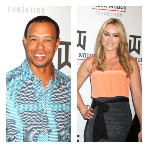 Tiger Woods has a new boo, and as of late, hasn't been afraid to express it to paparazzi, press, news room or practically anyone that asks him! (Gosh, poor Elin. We wouldn't be too worried about her though since she has that $110 million dollar divorce settlement to keep her warm at night.) Seems he's screaming his love for new girlfriend Lindsey Vonn from the rooftops with pictures of the two together at various locations.