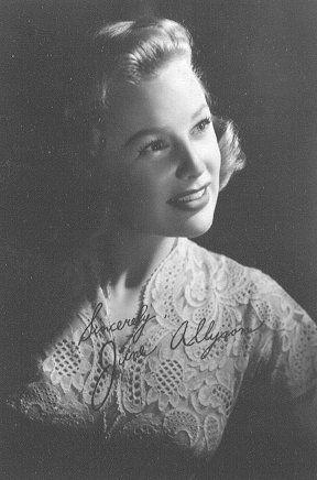 June Allyson MGM fan photo