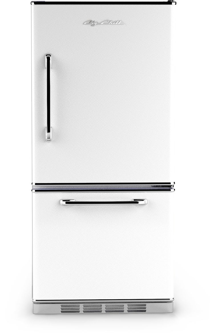 Big Chill - Retropolitan Fridge - White
