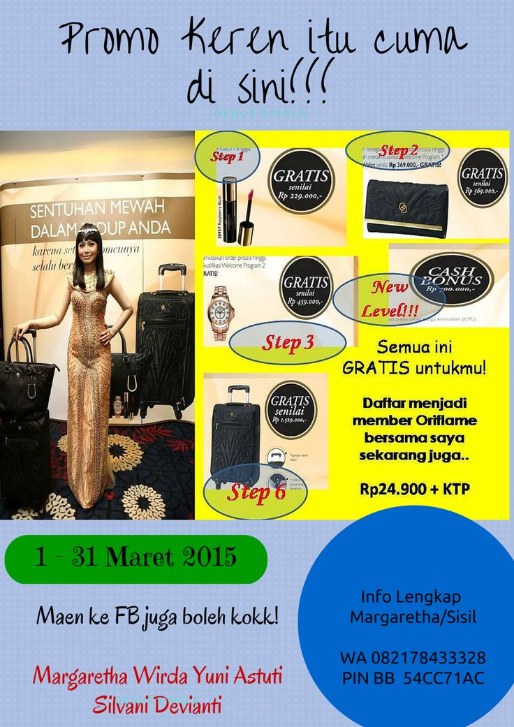 The special request for the new member!!! All of this reward can get when you realized you action!! That's true!!! Just save your 24.900 plus your identity card now!!!  I will wait for yourself to join with me, with us, mompreneur