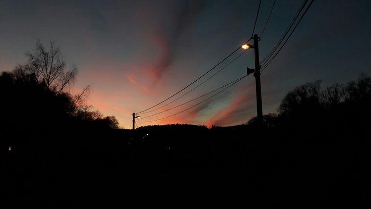 Beautiful sunset...❤