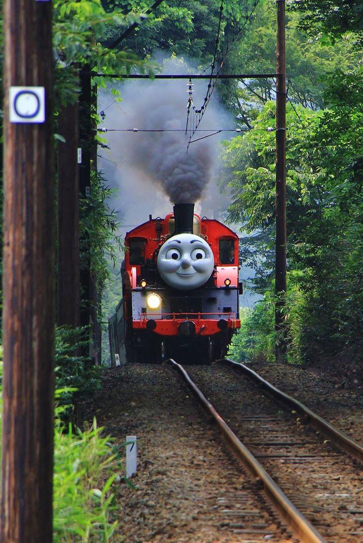 Life-size Thomas The Tank Engine in Shizuoka, Japan | Masanori Konagaya 大井川鉄道