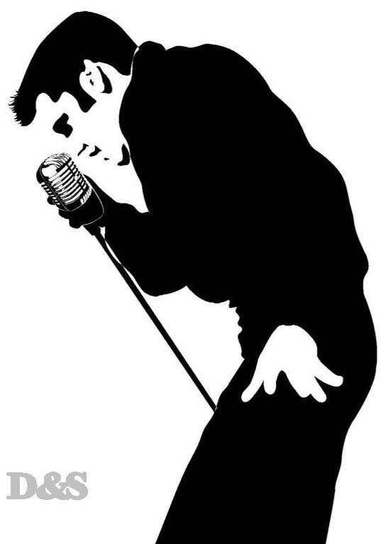 New Custom Screen Printed Tshirt Elvis Presley Mic Singing Band Music Small - 4XL Free Shipping. $16.00, via Etsy.