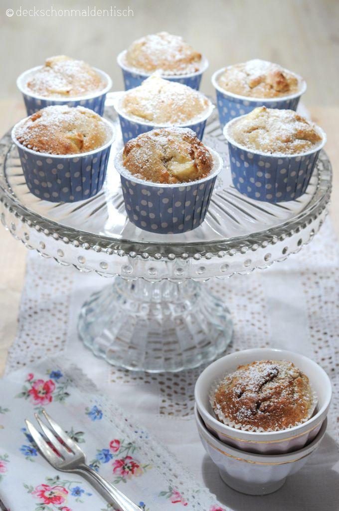 Apfel-Marzipan-Muffins.getestet. Sehr gut :)