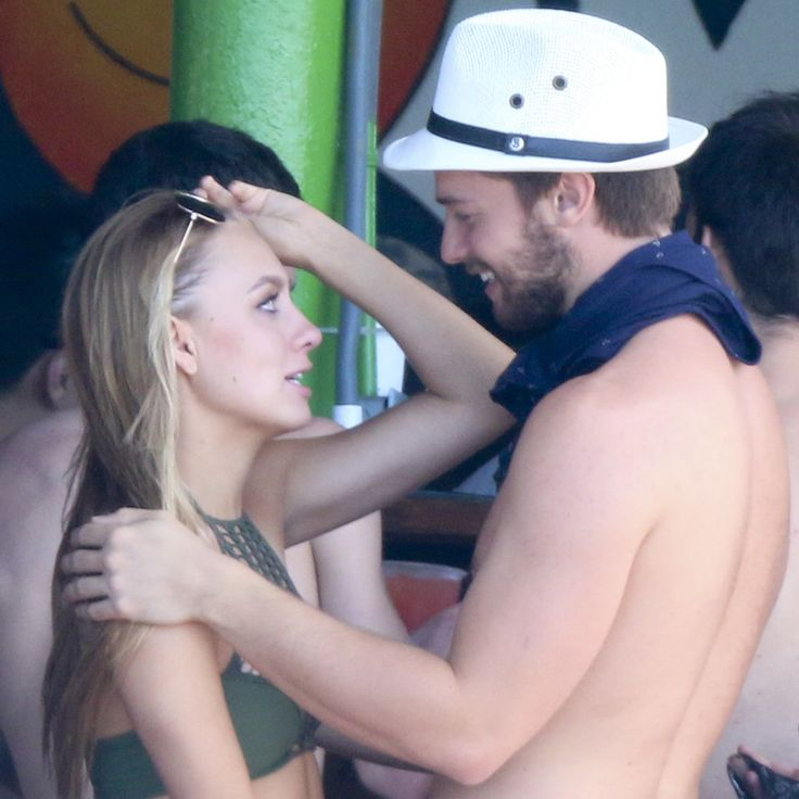 Patrick Schwarzenegger Reportedly Parties With His Ex on His Controversial Trip: Partying in Mexico for Spring break isn't anything new for a college student, but Patrick Schwarzenegger's recent trip is still making headlines.