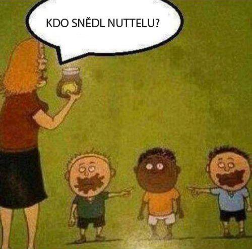 Kdo snědl Nutellu?
