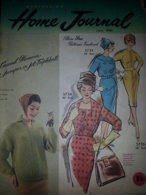 Australian home journal June 1961 cover