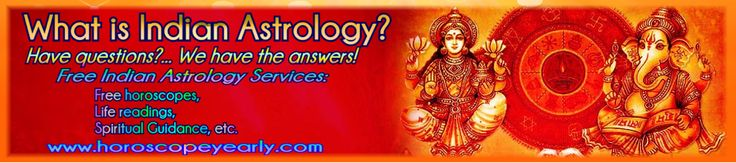 What is Indian Astrology? Indian Astrology Free Services (Horoscopes, Compatibility Matching, Life Readings, Dream Interpretation, Spiritual Guidance, etc…) Indian Astrology is another type of astrology which is also liked by people and thus they are producing each and everything according to the demand of people. Indian astrology is best for providing people with different services and facilities at one time... Learn More: http://www.horoscopeyearly.com/indian-astrology-free-services/