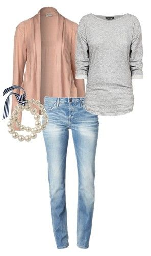 I really like everything about this outfit, especially the jeans.