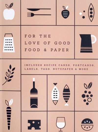 print & pattern, book cover, food, drawing, illustration, design, type, lettering, typography, colour, print