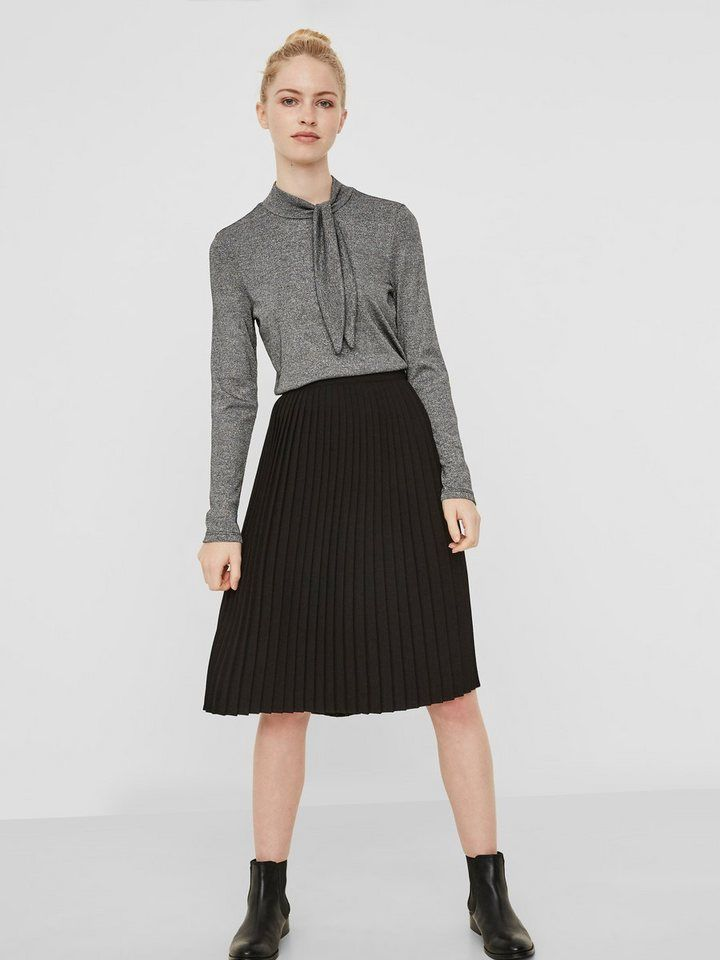finest selection f442d c77bc Vero Moda Plissee Hemd | Fashion_Sept_01 | Vero moda, Röcke ...