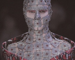 Fashion stylist Alexander McQueen modeled after the King snake that inhabits District 12 of Panem
