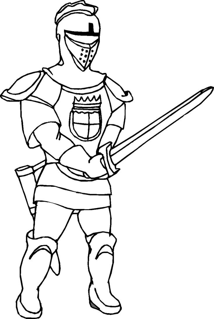 Free coloring pages knights and dragons - Find This Pin And More On Knights Coloring Pages